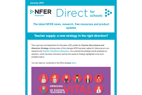 NFER Direct for Schools: