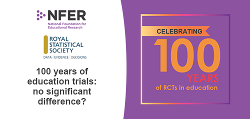Box image for event titled: One hundred years of education trials: no significant difference?