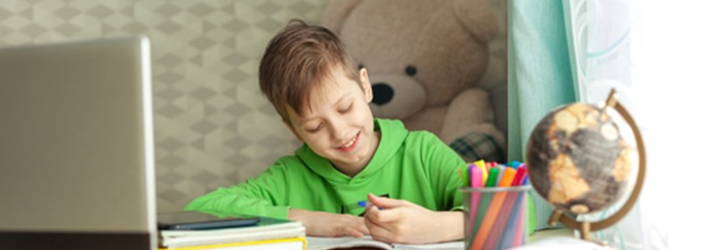 Header image for news item titled: New report looks at pupil engagement in remote learning during the Covid-19 pandemic