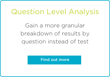 Question Level Analysis