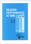 Reading performance at nine