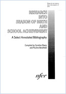 Research into season of birth and school achievement: A selected annotated bibliography
