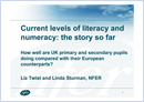 Current levels of literacy and numeracy: The story so far