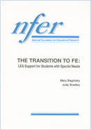 The transition to FE: LEA support for students with special needs