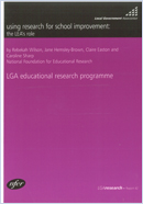 Using research for school improvement: The LEA's role