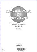 Alcohol education for young people: A review of the literature 1983-1992