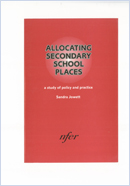 Allocating secondary school places: A study of policy and practice