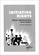 Initiation rights: Effective induction practices for new teachers