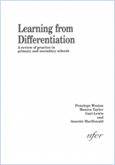 Learning from differentiation: A review of practice in primary and secondary schools