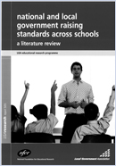National and local government raising standards across schools: A literature review