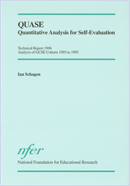 QUASE: Quantitative Analysis for Self-Evaluation. Technical report 1996. Analysis of GCSE Cohorts 1993 to 1995