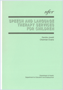 Speech and language therapy services for children