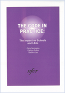 The code in practice: The impact on schools and LEAs