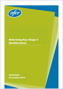 Reforming Key Stage 4 Qualifications
