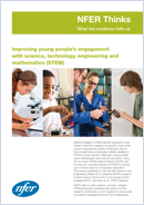 Improving young people's engagement with science, technology, engineering and mathematics (STEM)