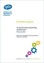 A world-class teaching profession