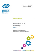 Evaluation of In Harmony: Year 1 Interim Report
