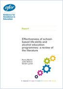 Effectiveness of school-based life-skills and alcohol education programmes: A review of the literature