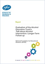Evaluation of AET's Talk About Alcohol Intervention