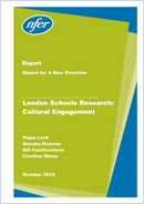 London Schools Research: Cultural Engagement