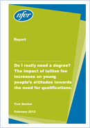 Do I really need a degree? The impact of tuition fee increases on young people's attitudes towards the need for qualifications