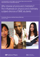 Why choose physics and chemistry? The influences on physics and chemistry subject choices of BME students