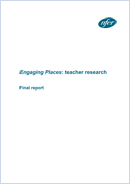 Engaging Places: Teacher research