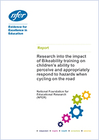 Impact of Bikeability on response to hazards