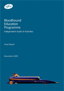 Bloodhound Education Programme: Independent audit of activities