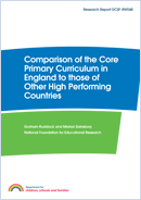 Comparison of the English Core Primary Curriculum to those of other high performing countries