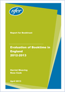 Evaluation of Booktime in England 2012-2013
