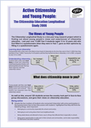 Active citizenship and young people: The views of young people