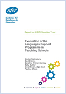 Evaluation of the Languages Support Programme in Teaching Schools