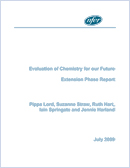 Evaluation of Chemistry for our Future: Extension phase report