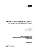 An evaluation of Royal Society of Chemistry careers advice and materials
