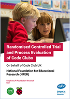 RCT and Process Evaluation of Code Clubs