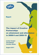 The impact of Creative Partnerships on attainment and attendance in 2008-9 and 2009-10