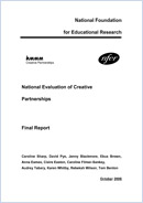 National evaluation of Creative Partnerships: Final report