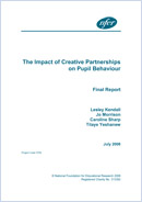 The impact of creative partnerships on pupil behaviour: Final report