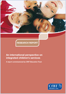 An international perspective on integrated children's services