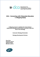 Connecting with citizenship education - a mapping study