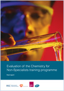 Evaluation of the Chemistry for Non-Specialists training programme