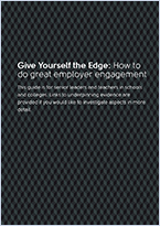 Give yourself the edge