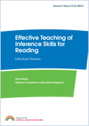 Effective teaching of inference and deduction skills for reading: Literature review