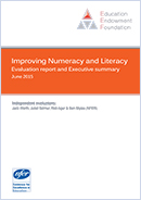 Improving Numeracy and Literacy