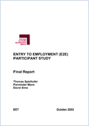 Entry to Employment (E2E) participant study