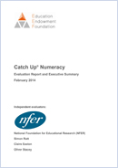 Catch Up<sup>®</sup> Numeracy: Evaluation Report and Executive Summary