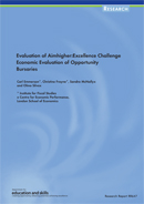 Evaluation of Aimhigher: Excellence Challenge. Economic Evaluation of Opportunity Bursaries