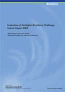 Evaluation of Aimhigher: Excellence Challenge. Interim Report 2005