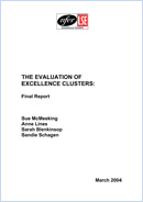 The evaluation of Excellence Clusters: Final report